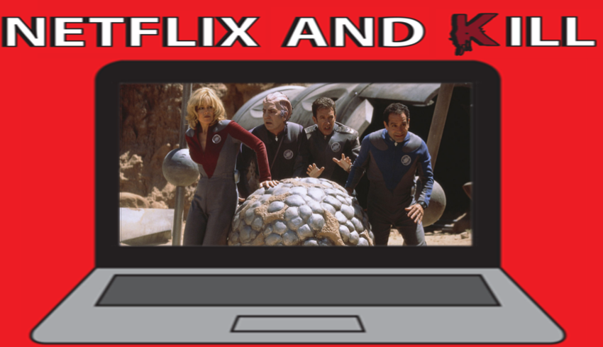 Artwork for Netflix and Kill - Galaxy Quest