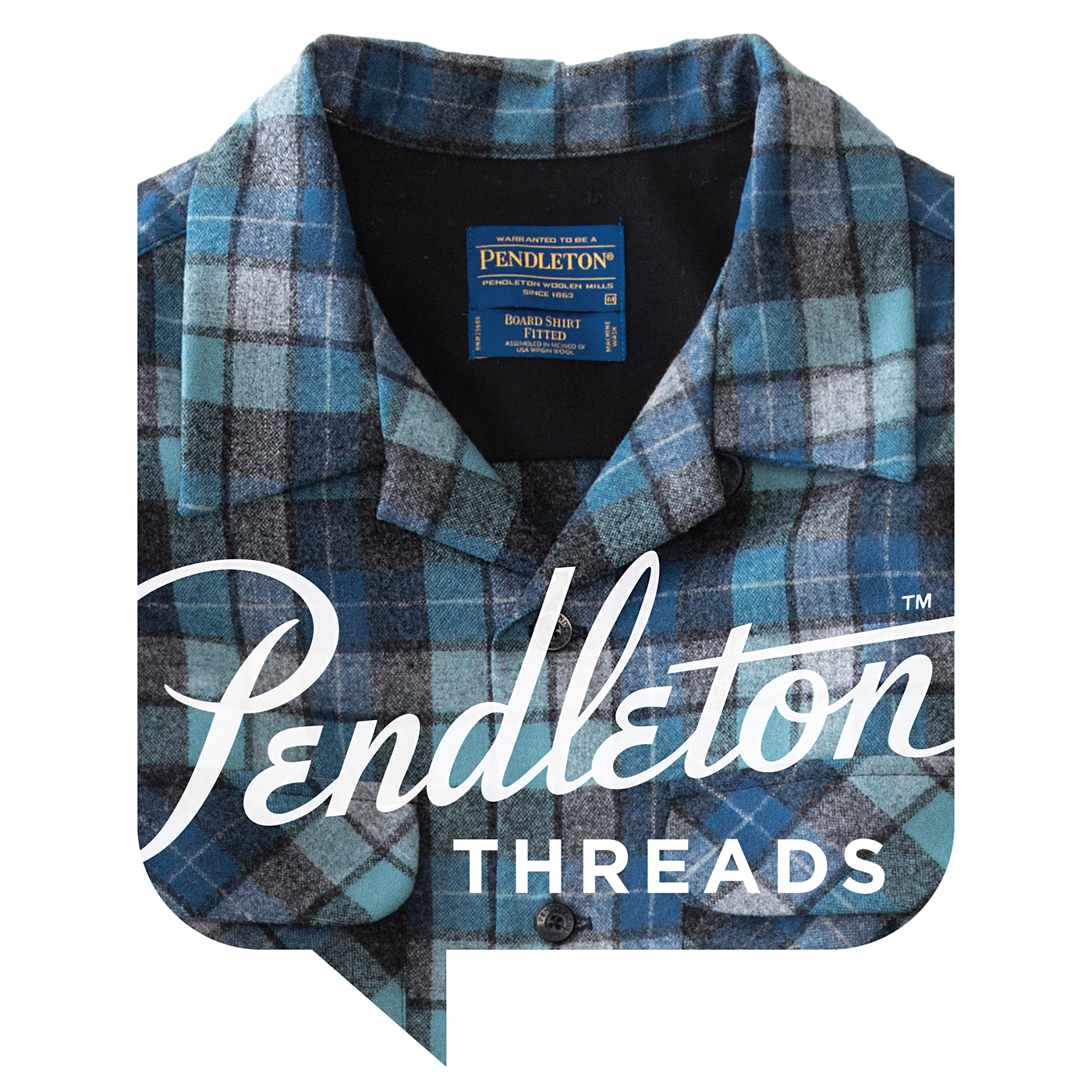 Pendleton Threads show art