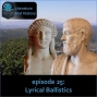 Artwork for Episode 25: Lyrical Ballistics (Sappho, Pindar, Archilochus, and Greek Lyric Poetry)
