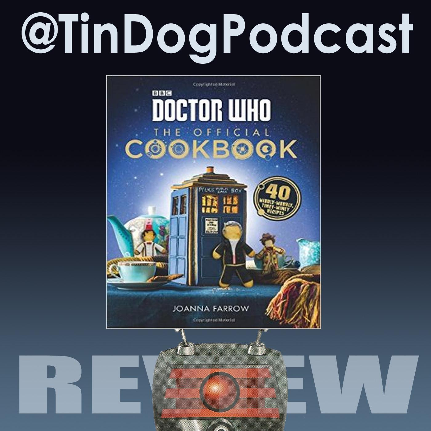 TDP 621: Doctor Who: The Official Cookbook: 40 Wibbly-Wobbly Timey-Wimey Recipes