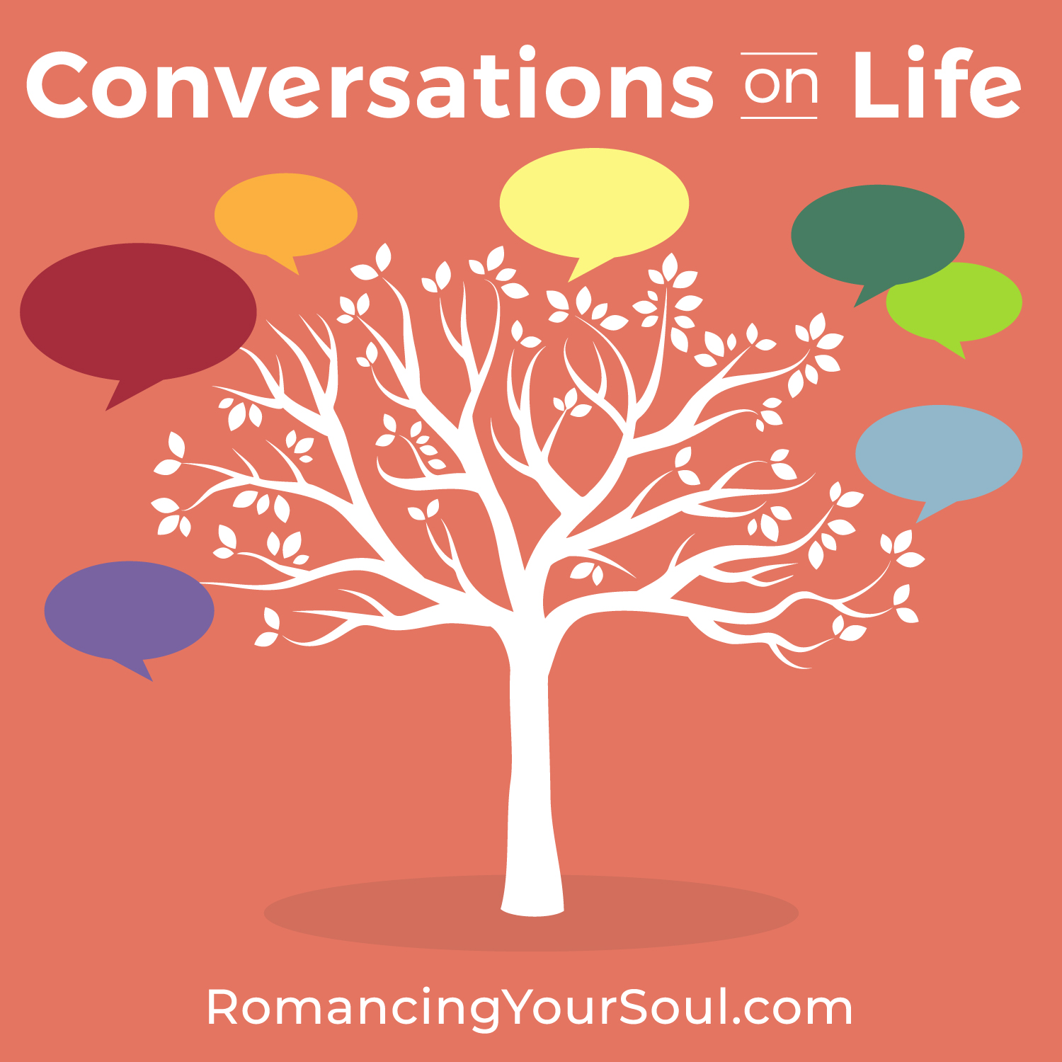 Conversations on Life Podcast show art