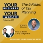 Artwork for 137 - The 5 Pillars of Tax Planning with Shahar Plinner