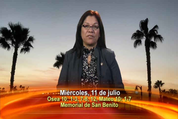 Artwork for Dios te Habla con Angela Valencia;  Tema el hoy: Los doce apóstoles; Memorial de San Benito, abad
