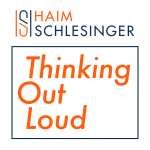 Haim Schlesinger - Thinking Out Loud