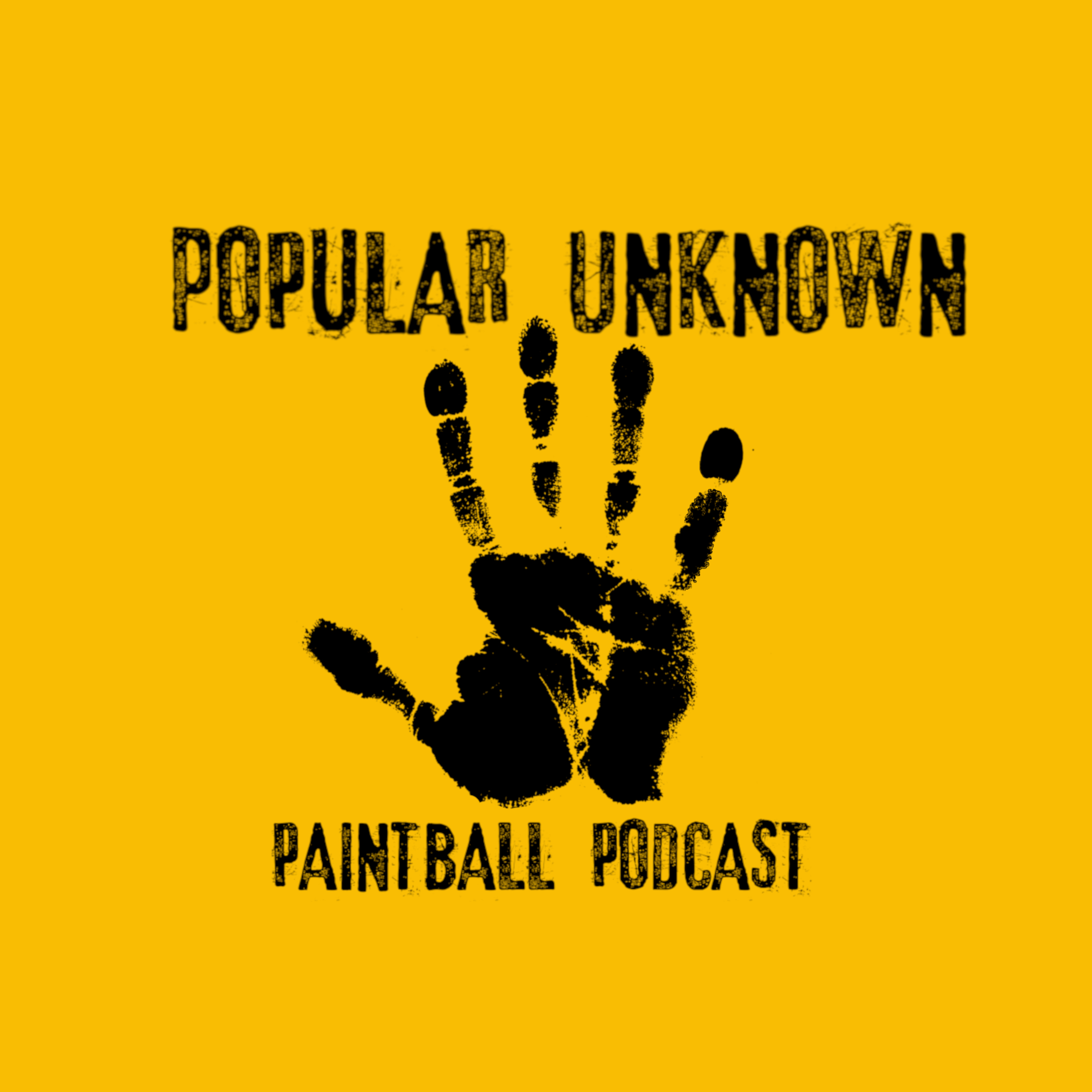 Popular Unknown Paintball Podcast show art
