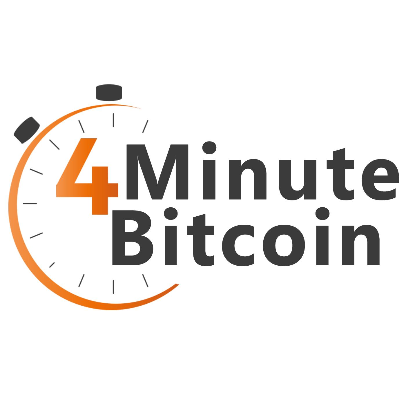 4 Minute Bitcoin Daily News show art