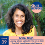 Artwork for Anshu Singh: Leaving Silicon Valley to Find Joy in Bali: The Shift from Pressure to Pleasure