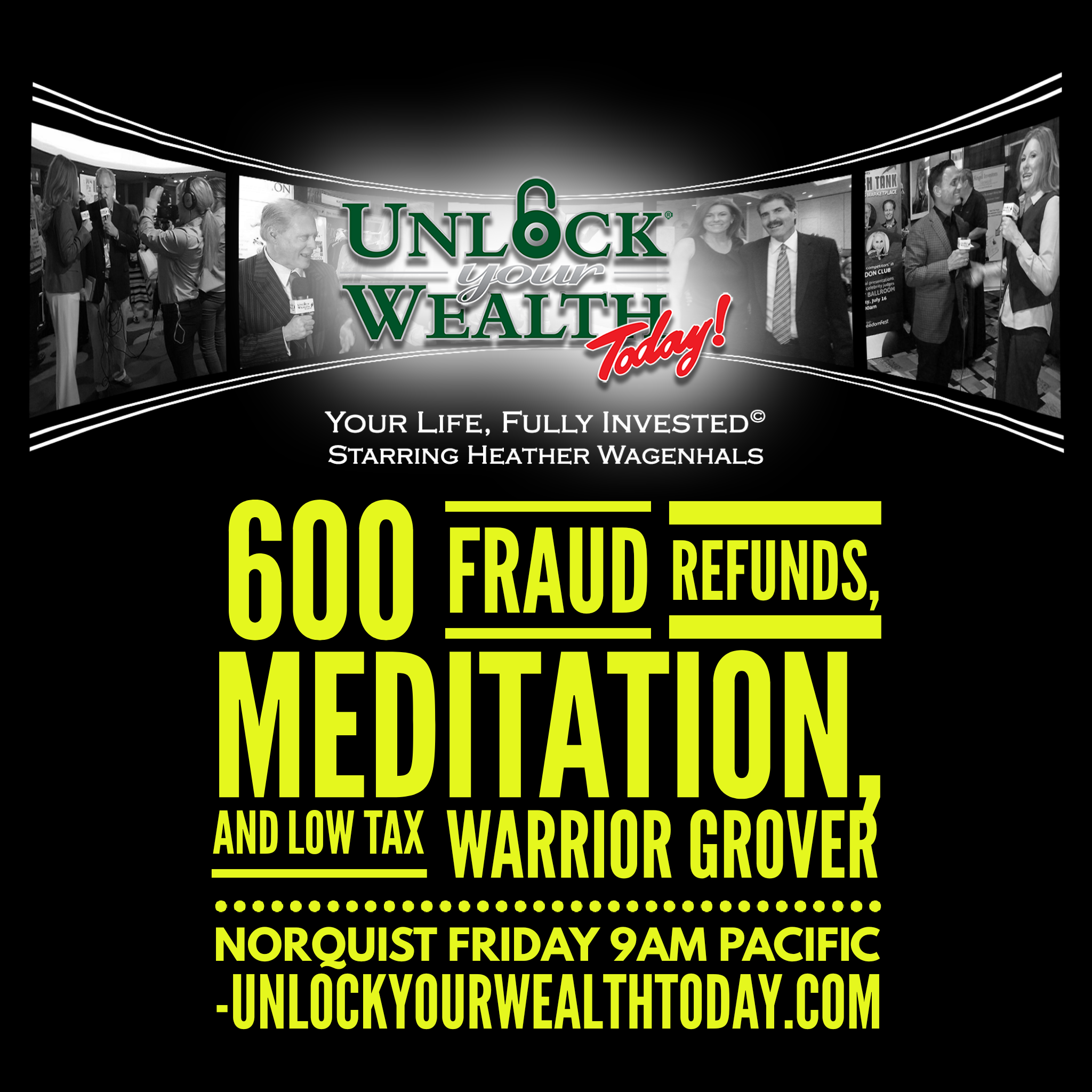Artwork for 600 Fraud Refunds, Money Meditations, Low Tax Warrior Grover Norquist and the Keys to Riches© Financial Philosophy