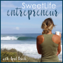 Artwork for 203: How To Create Your 2021 Online Business and Lifestyle Plan - April Beach