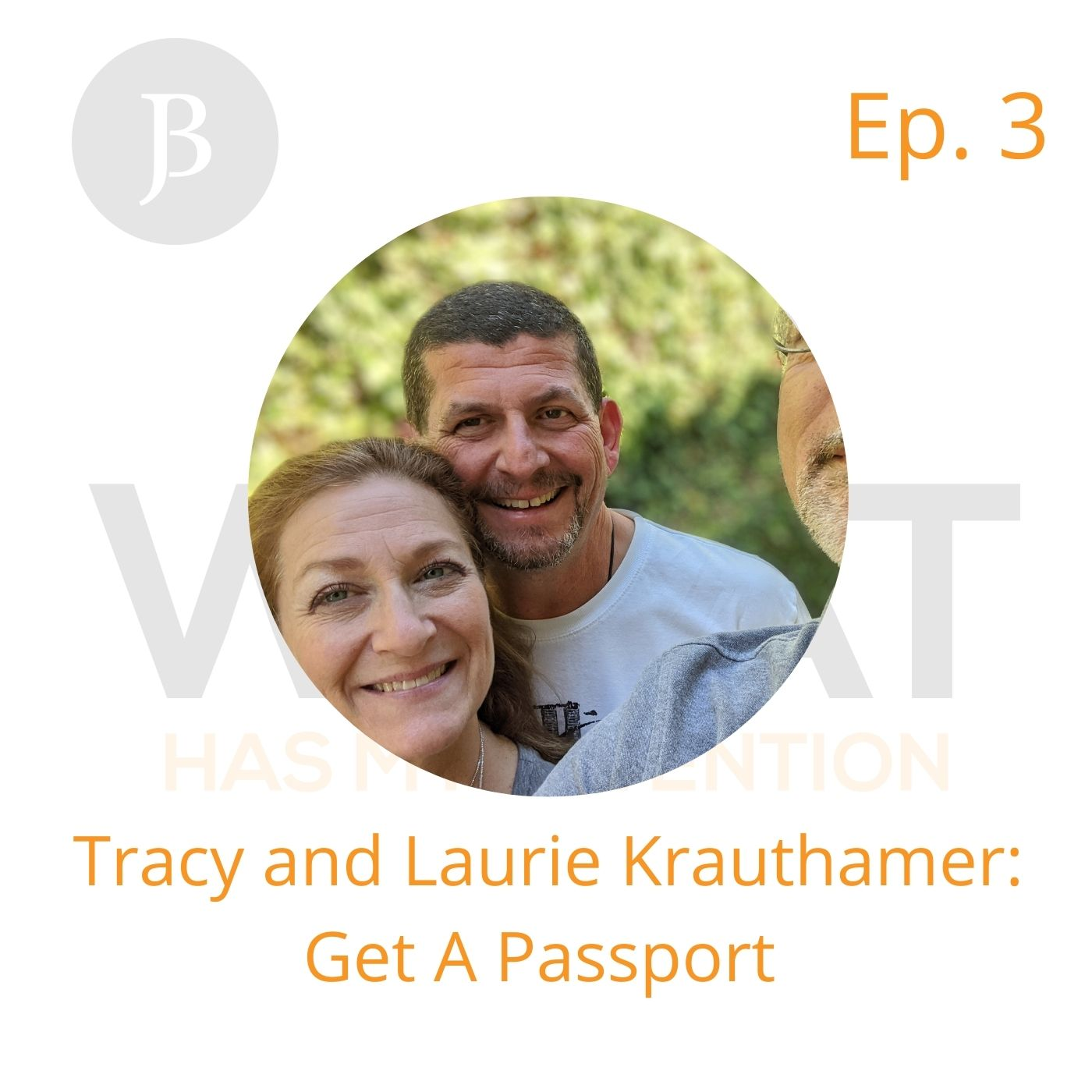 Ep. 3 Tracy and Laurie say: Get A Passport
