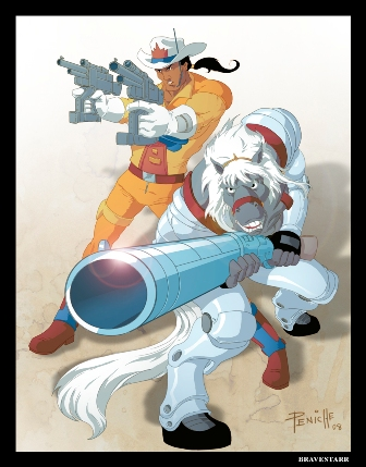 Episode 15 - With the speed of the Puma here's Bravestarr