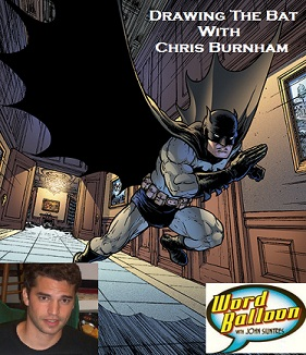 Drawing The Batman With Chris Burnham
