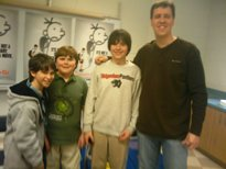 Max's Exclusive Diary of a Wimpy Kid Interview with Author Jeff Kinney and the Stars of the New Movie Plus His Review