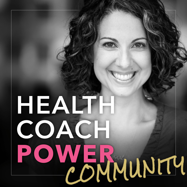 Health Coach Power Community show art