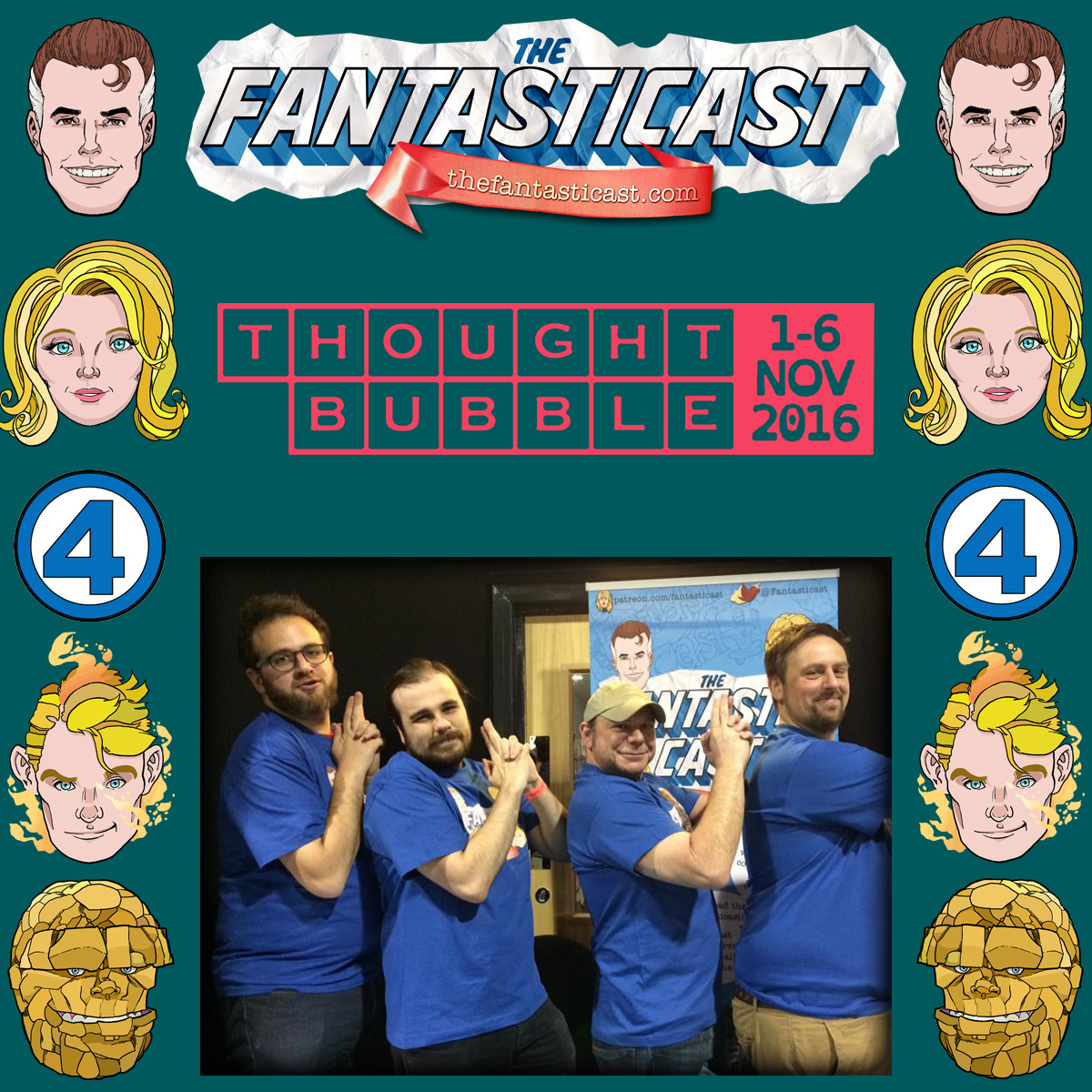 Episode 212: The Fantasticast at Thought Bubble 2016