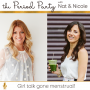 Artwork for PP# 174: Periods & Poops: How the Menstrual Cycle Affects the Digestive System with Nicole Jardim