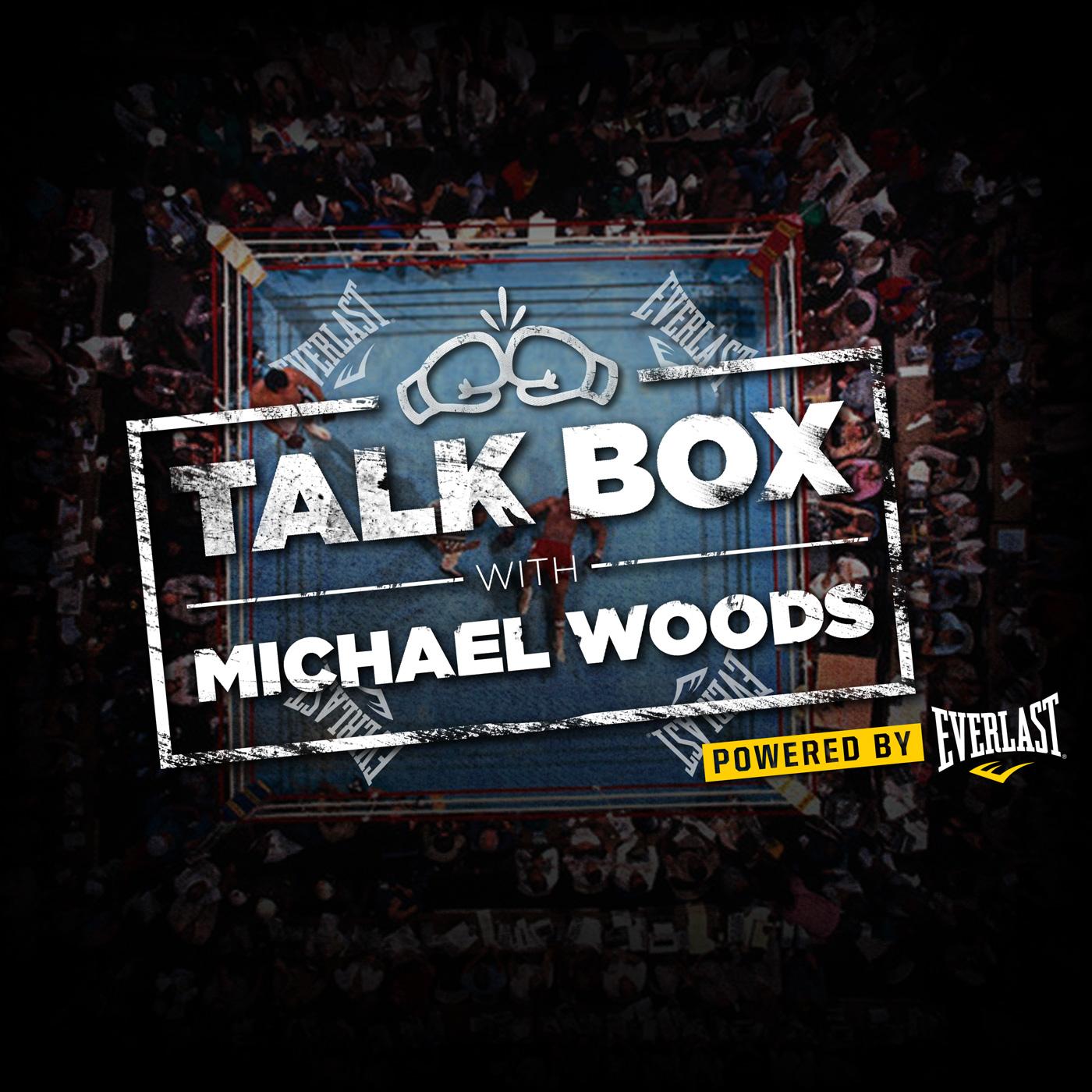 TalkBox Boxing Podcast show art