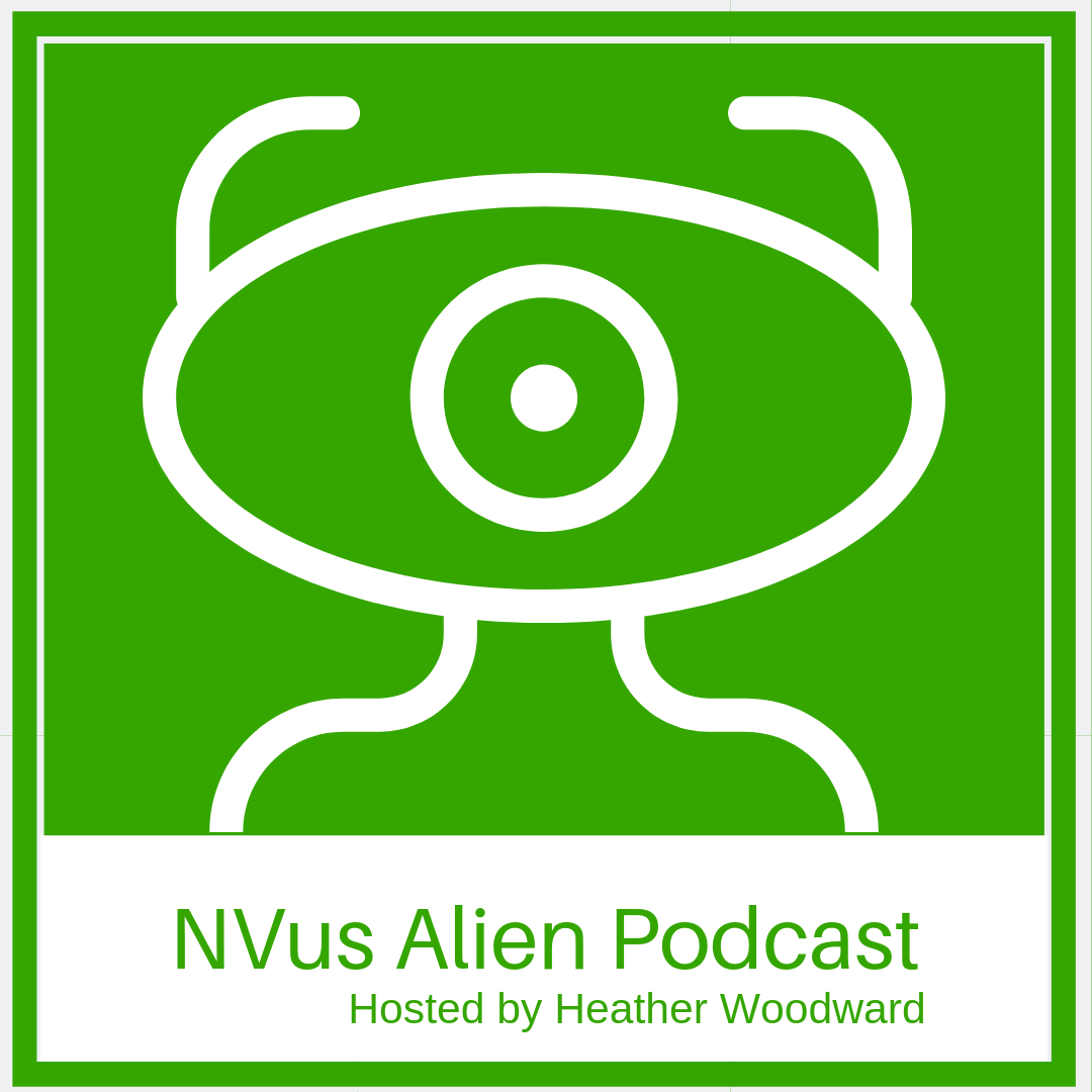 NVus Alien Podcast show art