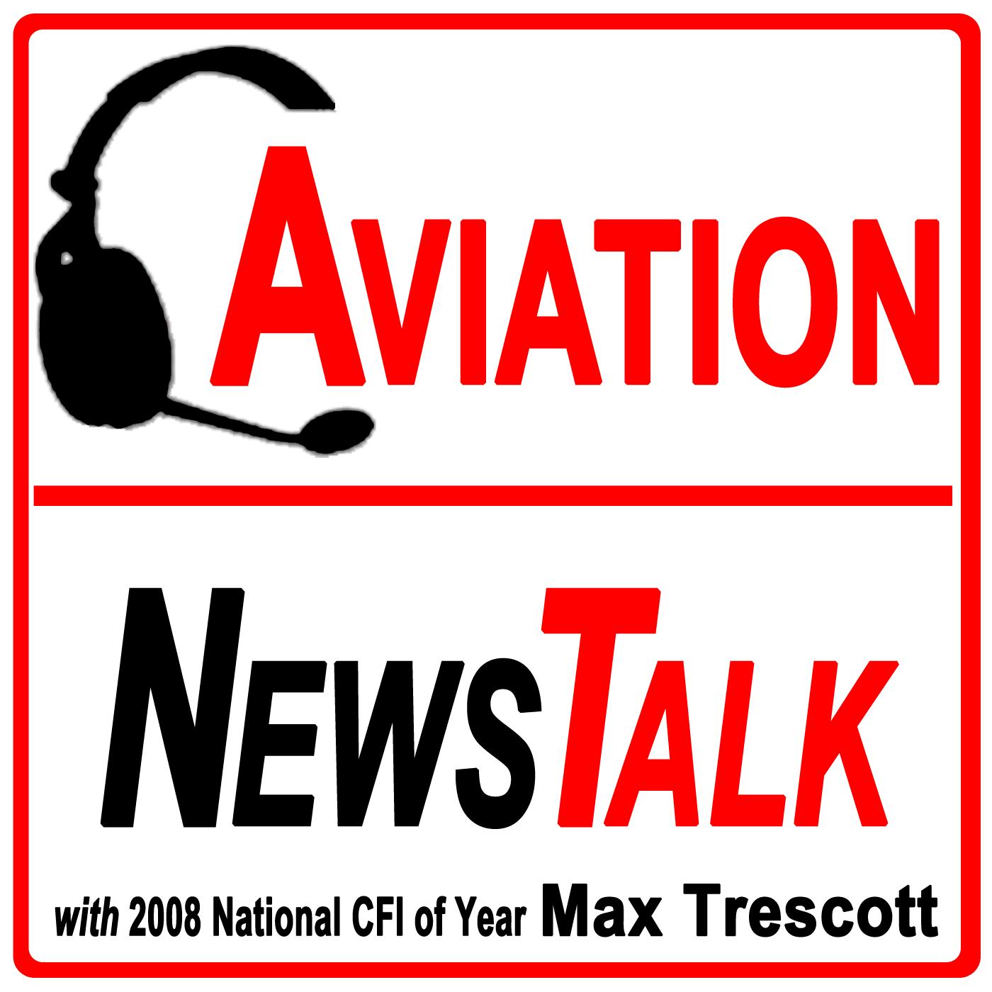 Aviation News Talk podcast show art