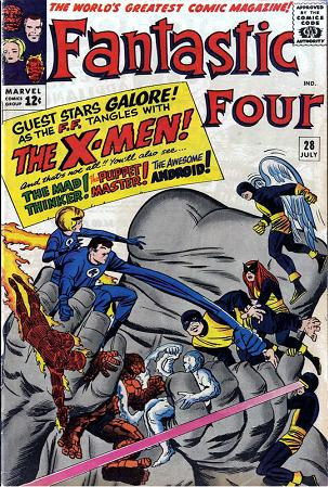 The X-Men Blog -- The Fantastic Four 28