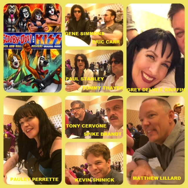 Episode 630 - SDCC: Scooby-Doo/KISS w/ Gene Simmons/Paul Stanley/Eric Carr/Tommy Thayer/Matthew Lillard/Grey Delisle-Griffin/Pauley Perrette/Kevin Shinick/Spike Brandt/Tony Cervone!