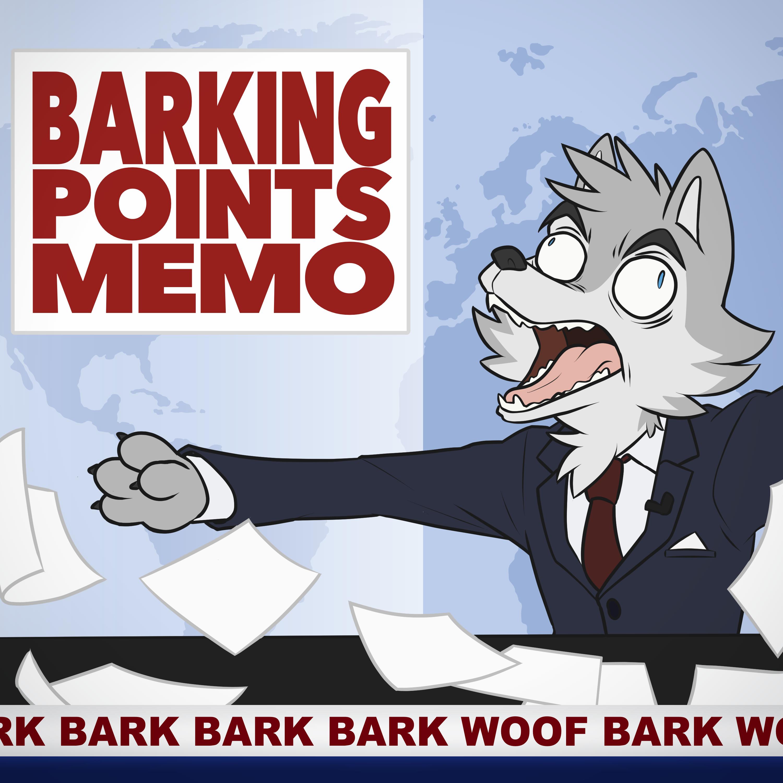 Barking Points Memo show art