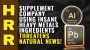 Artwork for Supplement company using INSANE heavy metals ingredient THREATENS Natural News!