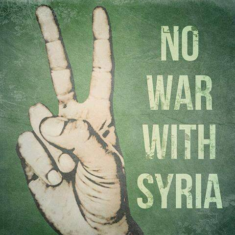 Hal Sparks Radio Pgm -- No War With Syria 9/7/13