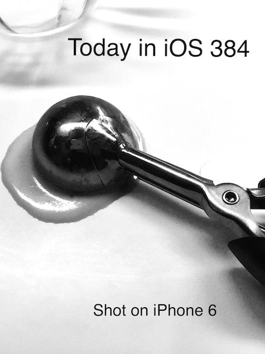 iOS Artwork - iTem 0384 and Episode Transcript