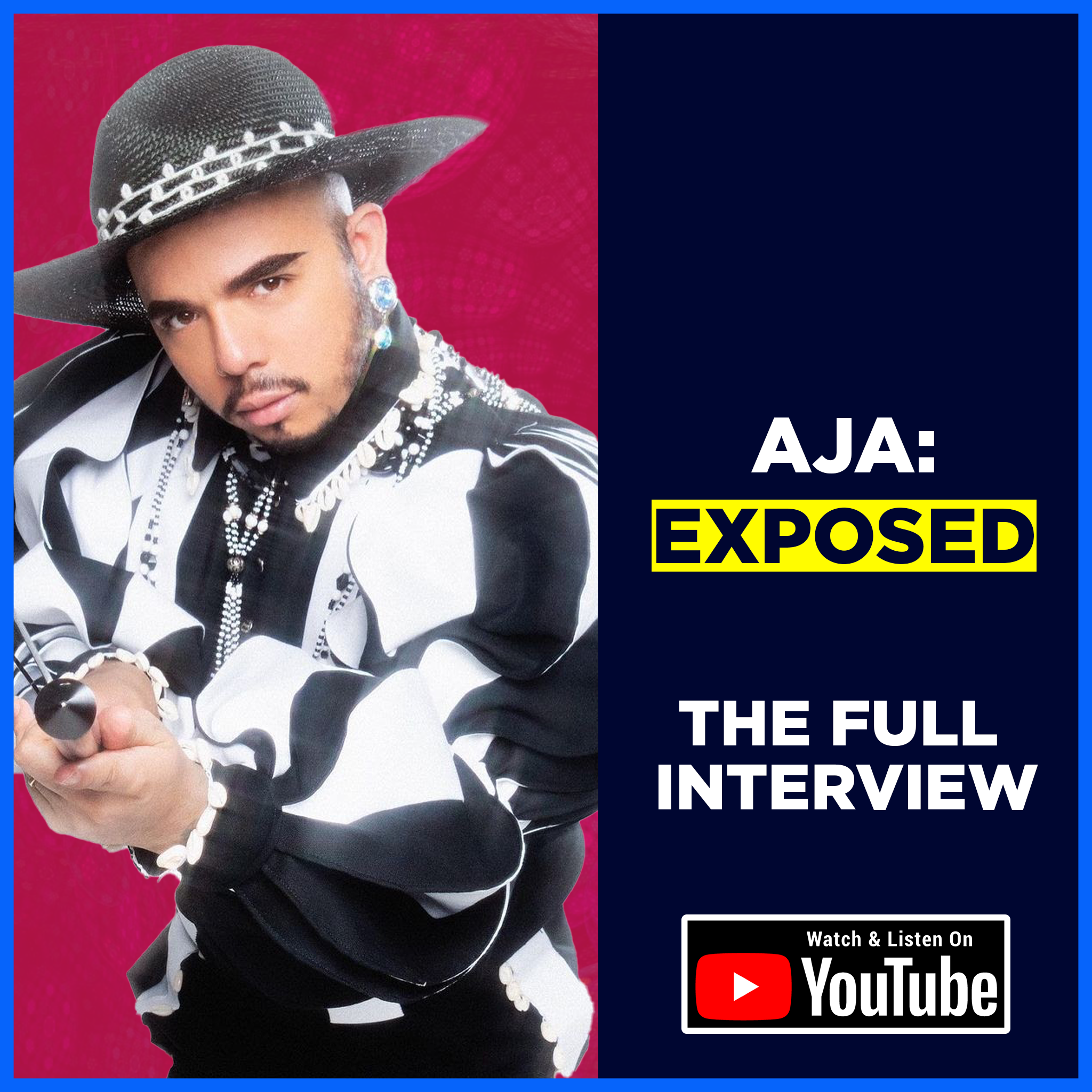 S3E4 - Aja: Exposed (The Full Interview)