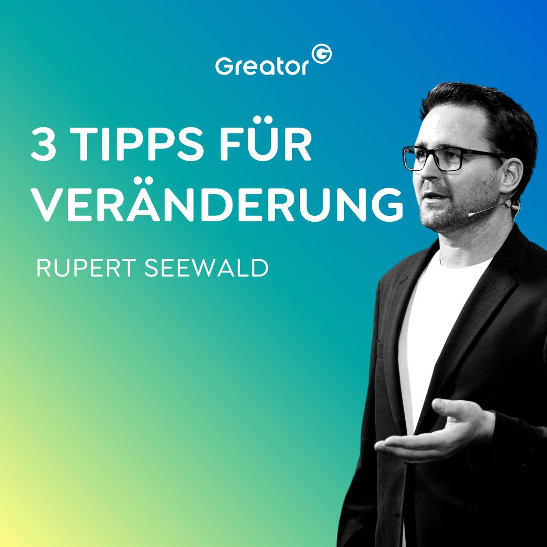 #706 So nimmst du Veränderungen selbst in die Hand // Rupert Seewald