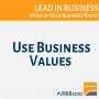 Artwork for Program 156 - Use Business Values
