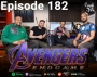 Artwork for Episode 182 – Avengers Endgame Discussion