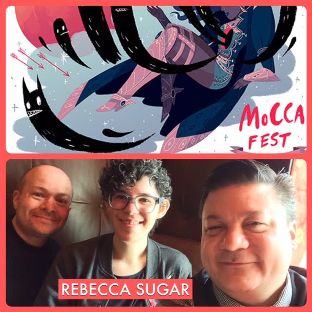 Episode 679 - MoCCA Mirth w/ Rebecca Sugar!