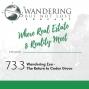 Artwork for Episode 73.3 | Wandering Zen -  The Return to Cedar Grove
