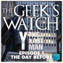 """Artwork for The Geeks' Watch 238: Y: The Last Man Ep 1 """"The Day Before"""""""