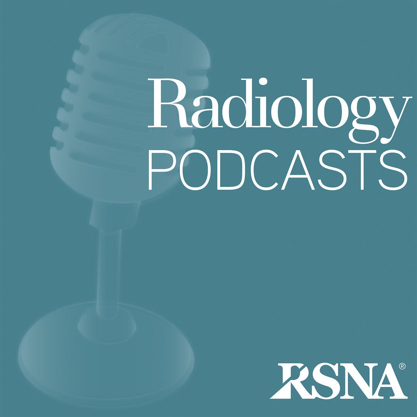 Radiology Podcasts | RSNA show art