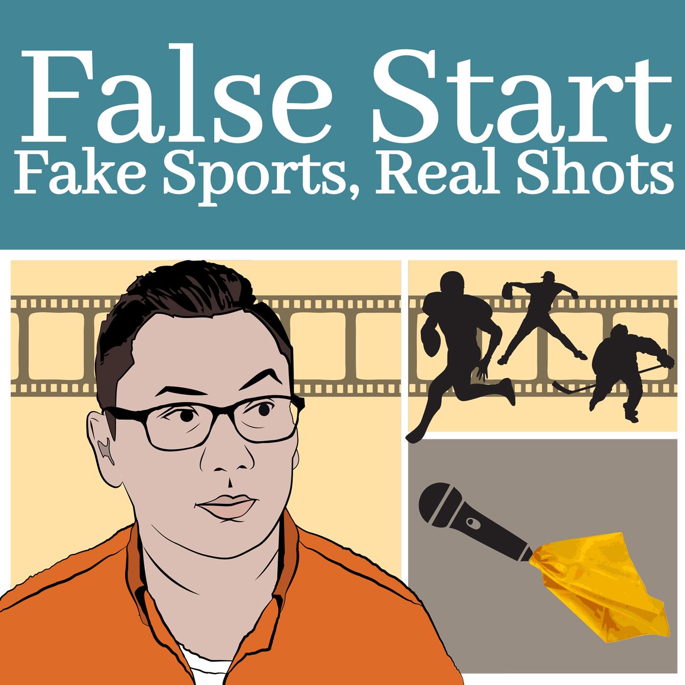False Start; Fake Sports, Real Shots show art