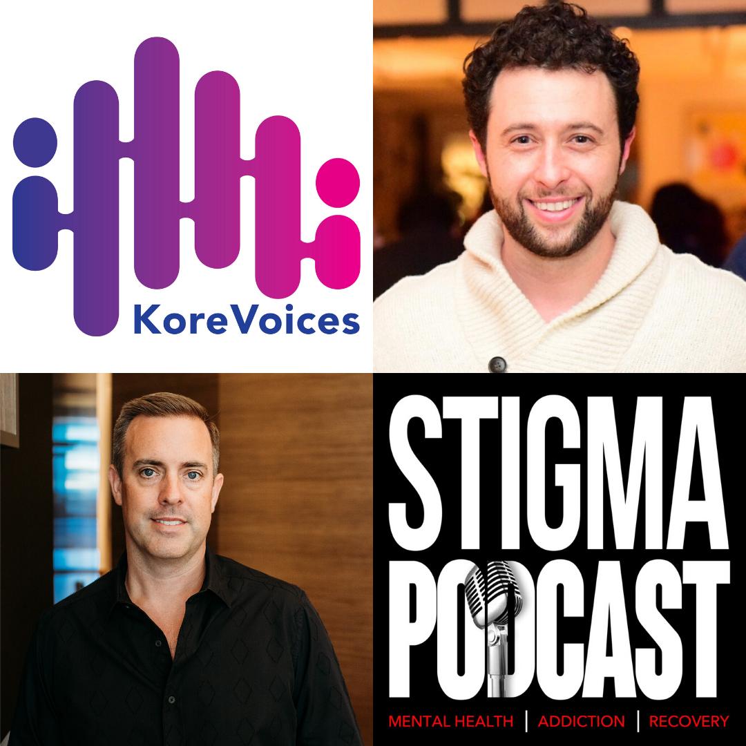 Stigma Podcast - Mental Health - #49 - KoreVoices Founder Jesse Stern