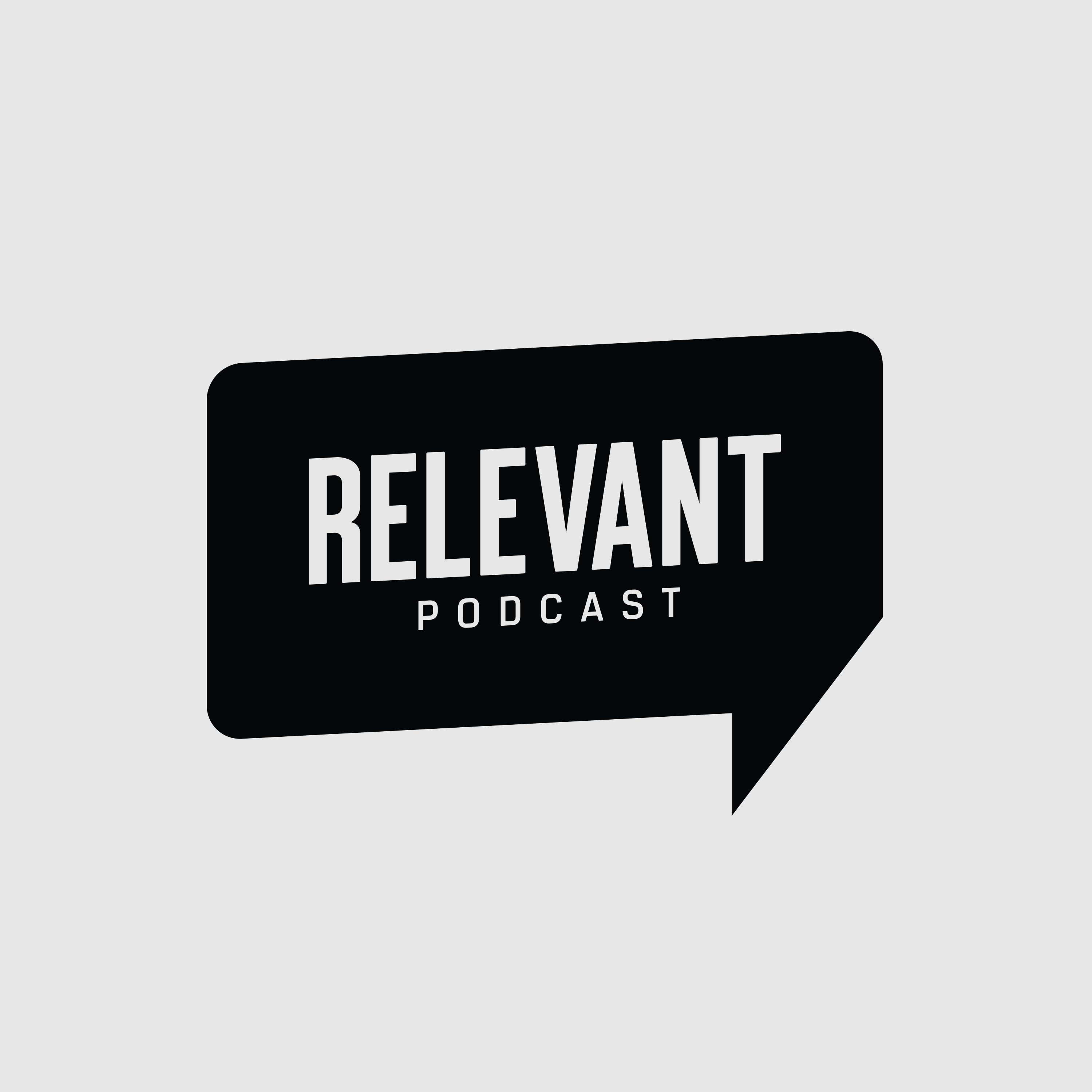 The RELEVANT Podcast show art