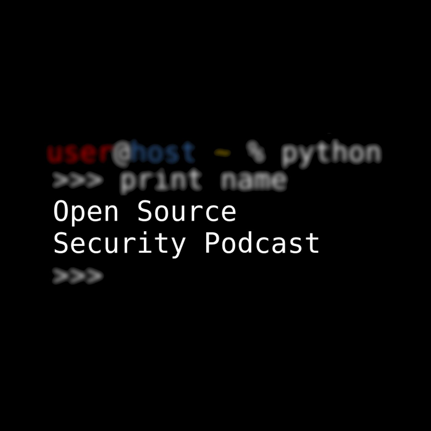 Open Source Security Podcast show art