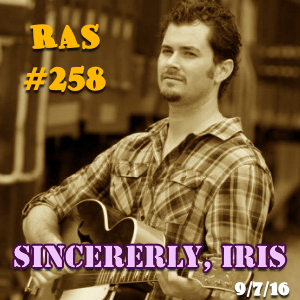 Artwork for RAS #258 - Sincerely Iris Interviewed