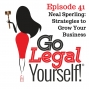 Artwork for Ep. 41 Neal Sperling: Strategies to Grow Your Business