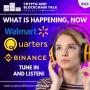 Artwork for Walmart, Pocket Full of Quarters and Binance are all in the news! Tune in to find out why... #68