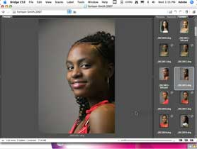 A little portrait retouching in Photoshop CS3 Extended