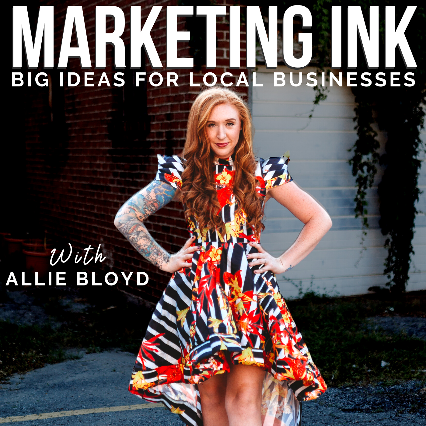 Marketing Ink: Big Ideas for Local Businesses show art