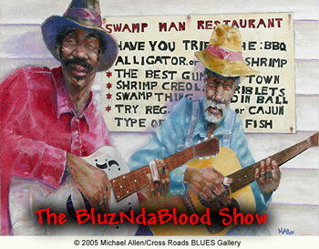 The BluzNdaBlood Show #320, Old Skool Blues! show art
