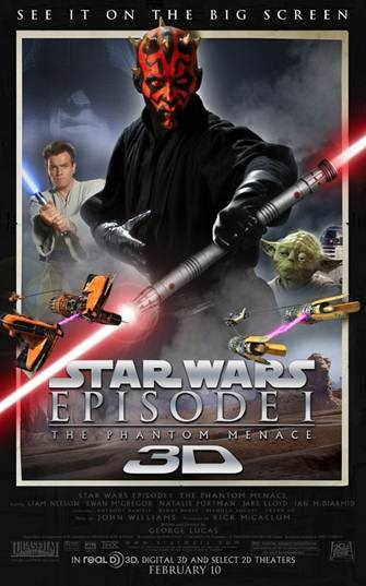 Fanboy Power Hour At The Movies Episode 1: Star Wars: The Phantom Menace in 3-D!