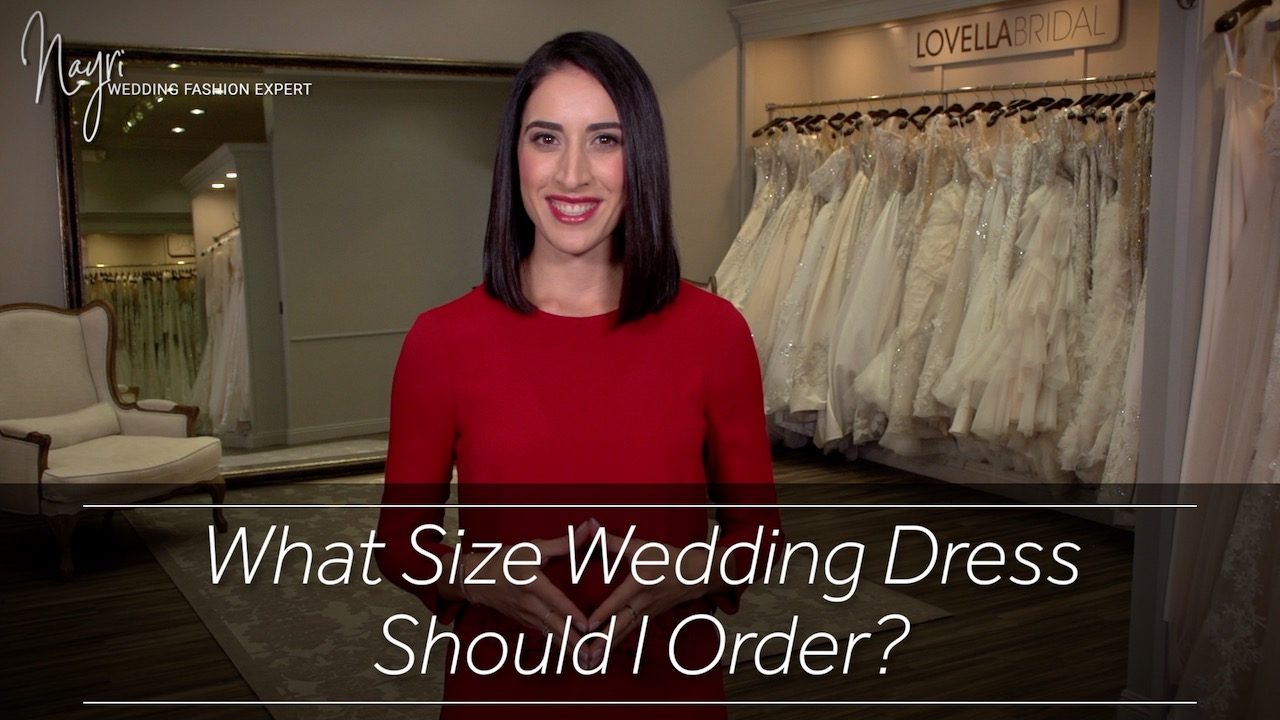 Artwork for What Size Wedding Dress Should I Order?