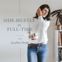 Artwork for [37] On Managing Your Time After You Take Your Side-Hustle Full-Time With Becky Avery from Hazel and Blue Candles